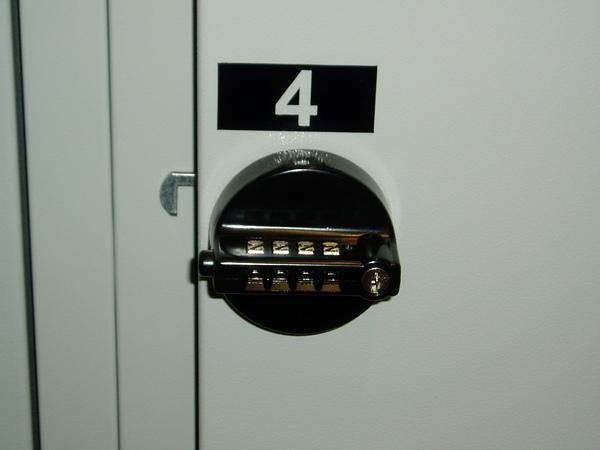 Zahlenschloss storage